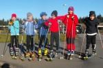 Rollski-Training kleine Gruppe
